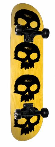 ZERO - MULTI SKULL (7.625) - The Drive Skateshop
