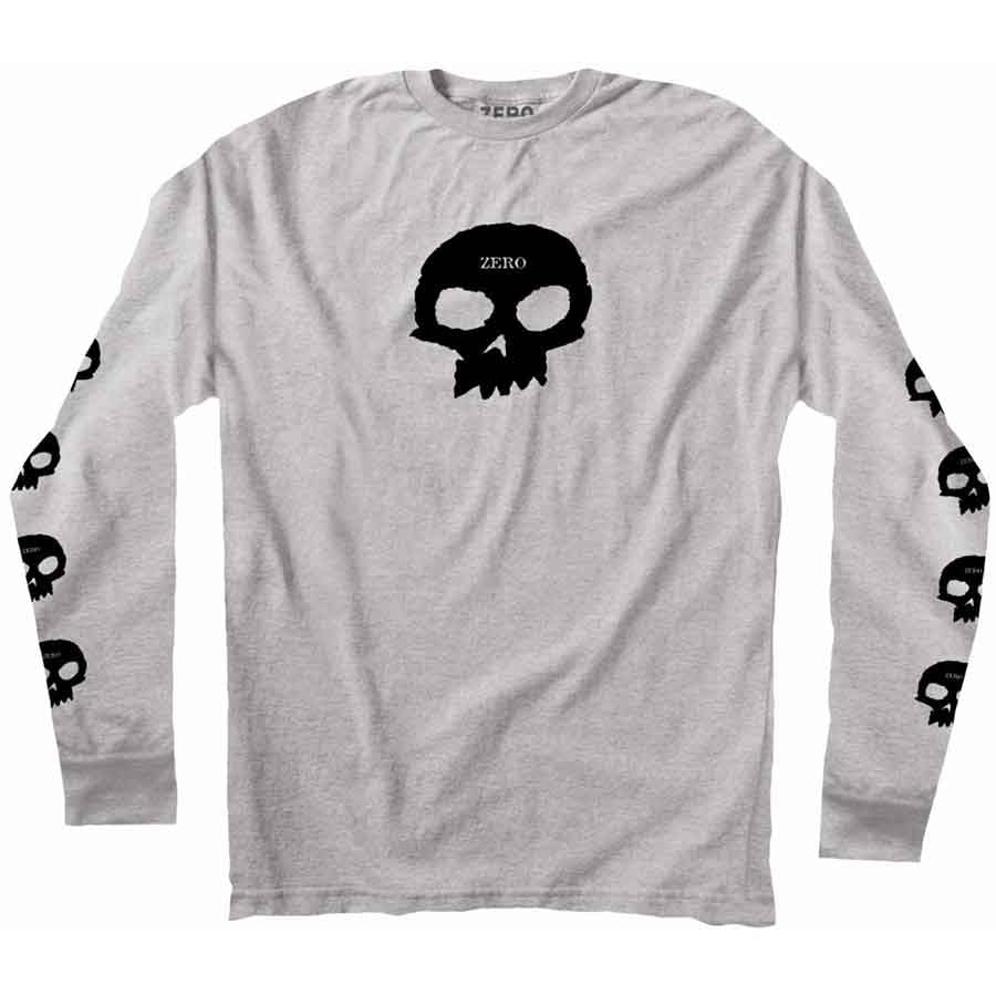 ZERO L/S T-SHIRT - MULTI SKULL - Seo Optimizer Test