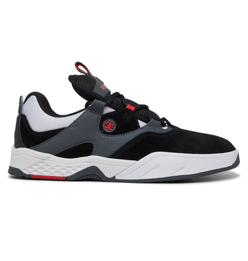 DC SHOES KALIS SE BLACK/GREY/RED - The Drive Skateshop