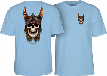 POWELL PERALTA S/S T-SHIRT - ANDERSON SKULL CAROLINA BLUE - Seo Optimizer Test