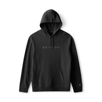 BRIXTON ALPHA LINE HOOD - BLACK - Seo Optimizer Test