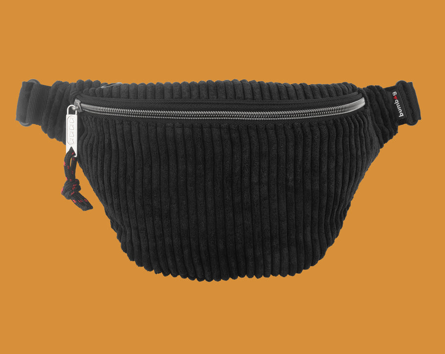 BUMBAG MIDNIGHT BASIC HIP PACK - BLACK - The Drive Skateshop
