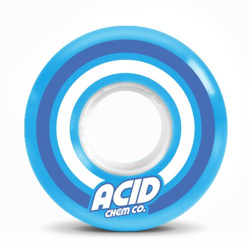 ACID CHEMICIAL CRUISER WHEEL - PODS CONICAL 86A (55MM) - The Drive Skateshop