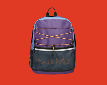 BUMBAG BACKPACK - SENDER SPORT PURPLE - The Drive Skateshop