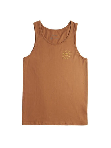 BRIXTON OATH V TANK - COCONUT - The Drive Skateshop