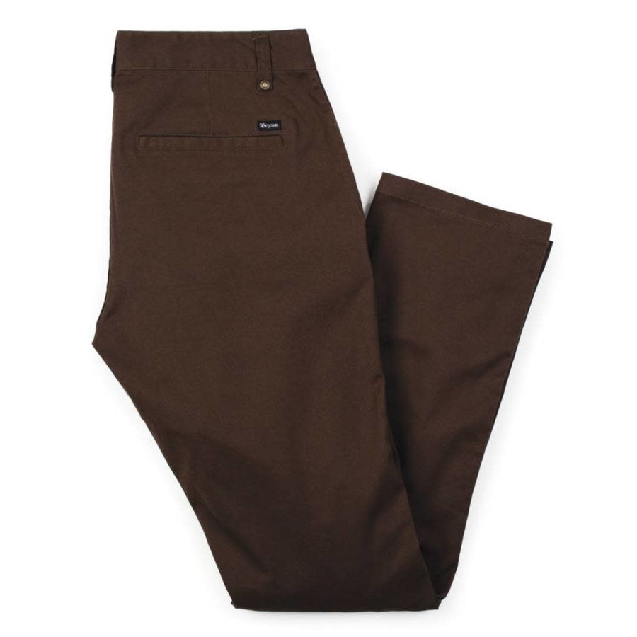 BRIXTON RESERVE CHINO PANT - BROWN - Seo Optimizer Test