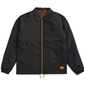 BRIXTON CLAXTON COLLAR SHERPA JKT - BLACK - The Drive