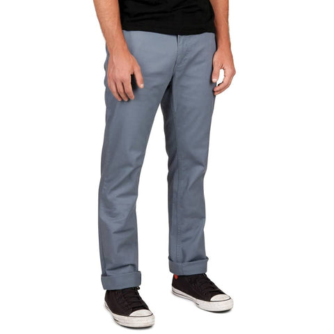 RESERVE CHINO PANT GREY/BLUE - The Drive