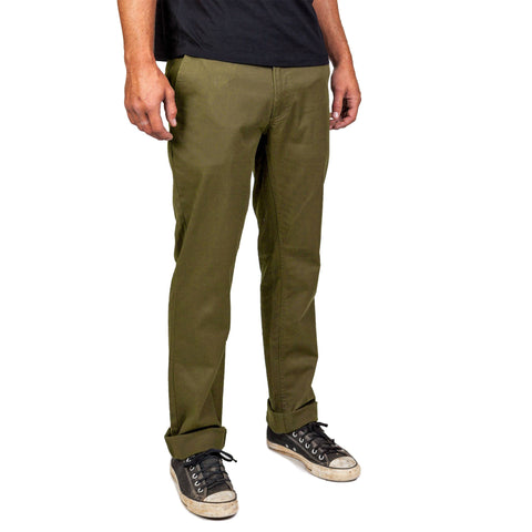 RESERVE CHINO PANT OLIVE - The Drive