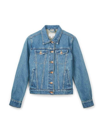 BRIXTON BROADWAY DENIM JKT - WORN INDIGO - The Drive