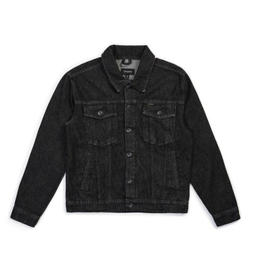 CABLE DENIM JKT - BLACK - The Drive