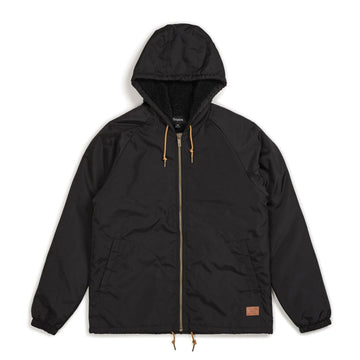 CLAXTON SHERPA HOOD JKT BLACK - The Drive