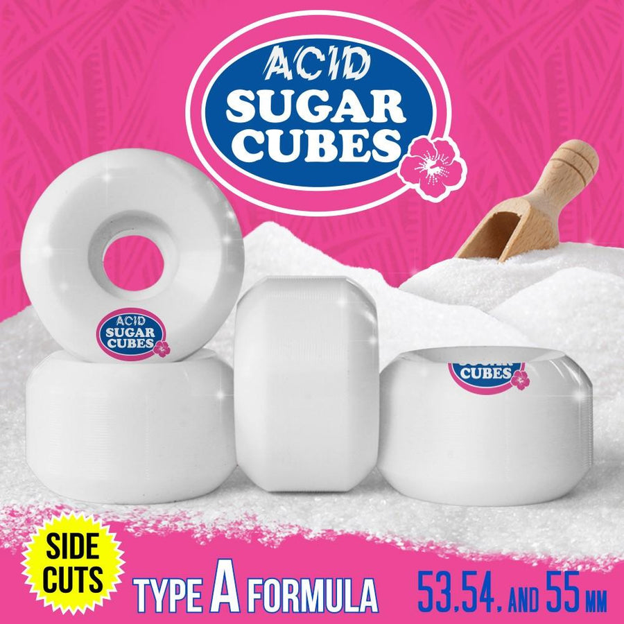ACID STREET WHEEL - TYPE A SUGARCUBES SIDE CUTS 101A (53MM/54MM/55MM/56MM) - The Drive Skateshop