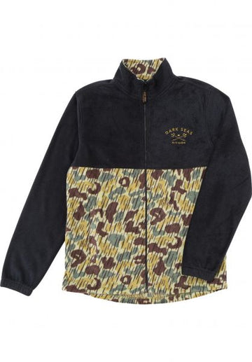 DARK SEAS QUIVER JACKET BLACK/CAMO - The Drive Skateshop