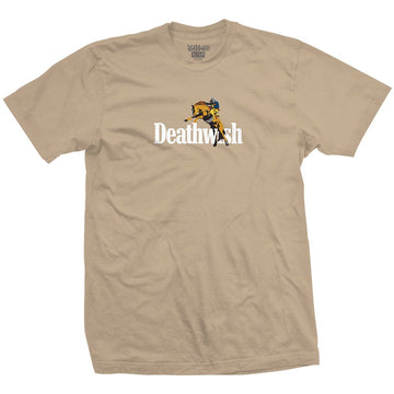 DEATHWISH HIGH HORSE SAND T-SHIRT - The Drive Skateshop