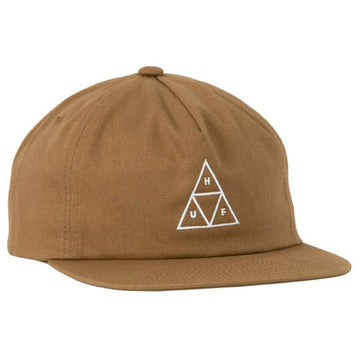 HUF ESSENTIALS BOX SNAPBACK UNSTRUCTURED TOFFEE - The Drive Skateshop