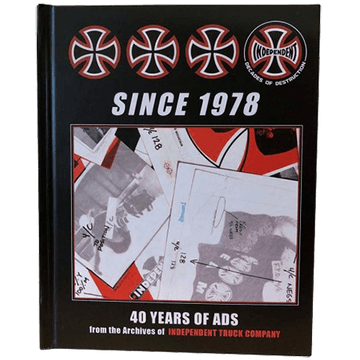INDEPENDENT BOOK SINCE 1978 - 40 YEARS OF ADS - The Drive Skateshop
