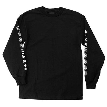 INDEPENDENT L/S T-SHIRT ANTE BLACK
