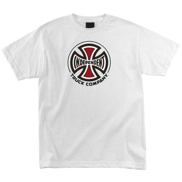 INDEPENDENT T-SHIRT TRUCK CO. WHITE - The Drive Skateshop