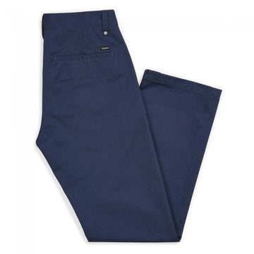 BRIXTON LABOR CHINO PANT - WASHED NAVY - The Drive