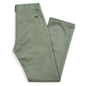 LABOR CHINO PANT - Washed Chive