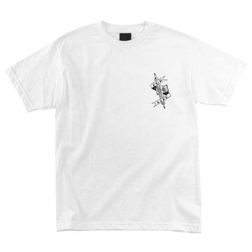 INDEPENDENT S/S POOL SCUM WHITE T-SHIRT
