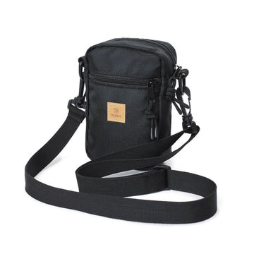 BRIXTON MAIN LABEL HIP PACK - BLACK - The Drive