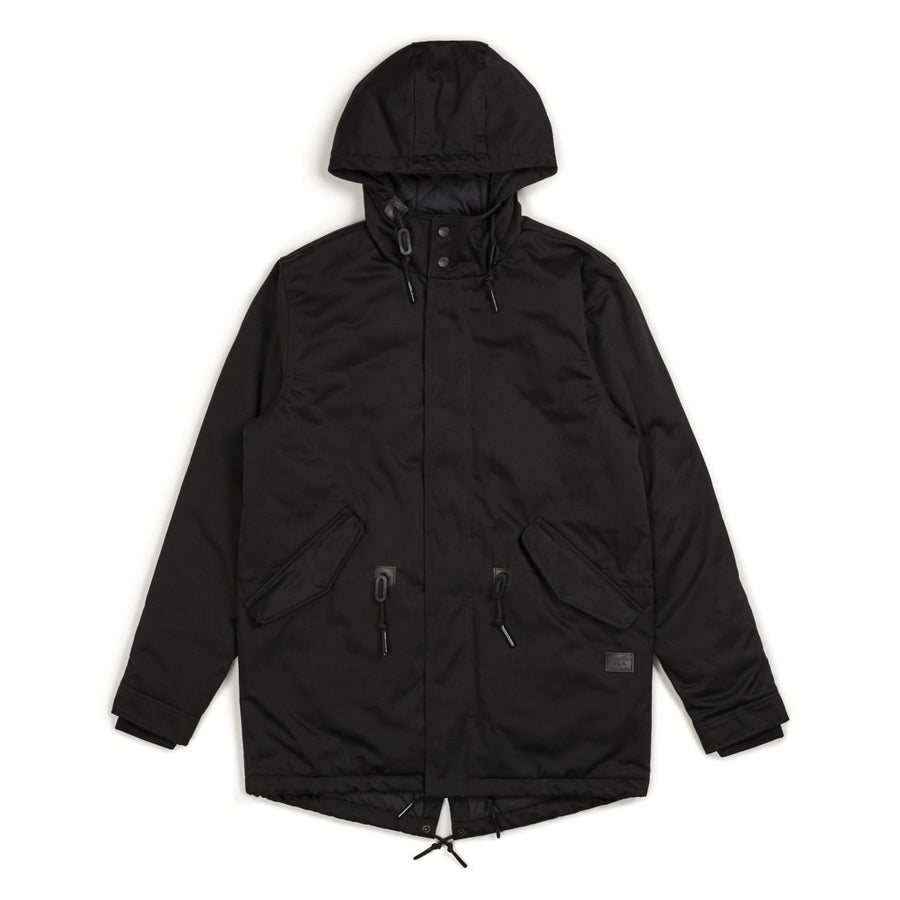 MONTE JKT - BLACK/BLACK - The Drive