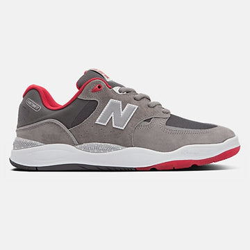 NEW BALANCE NUMERIC TIAGO LEMOS 1010 GREY/RED - The Drive Skateshop