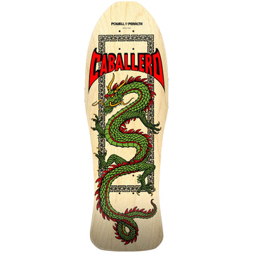 POWELL-PERALTA RE-ISSUE DECK - CHINESE DRAGON NATURAL (10