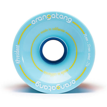 ORANGATANG WHEELS FAT FREE BLUE 77A (70MM) - Seo Optimizer Test
