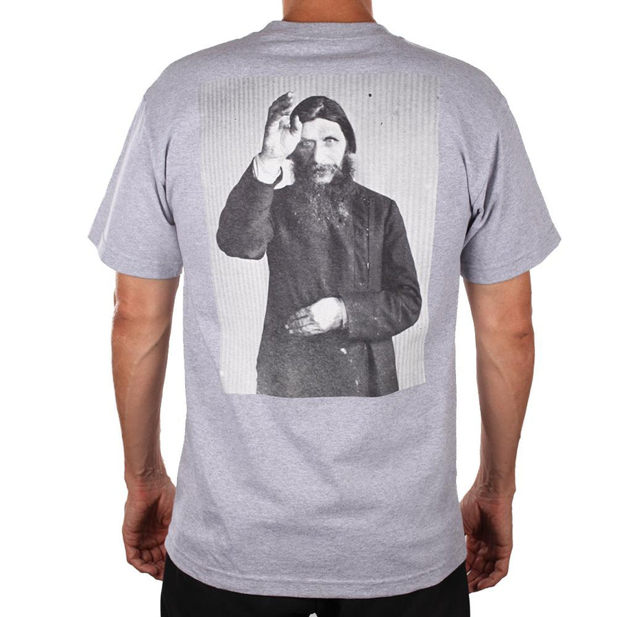 THEORIES S/S T-SHIRT - RASPUTIN HEATHER GREY - Seo Optimizer Test