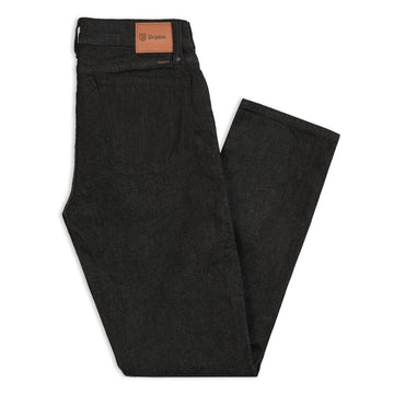 BRIXTON RESERVE 5-PKT DENIM PANT - WORN BLACK - The Drive