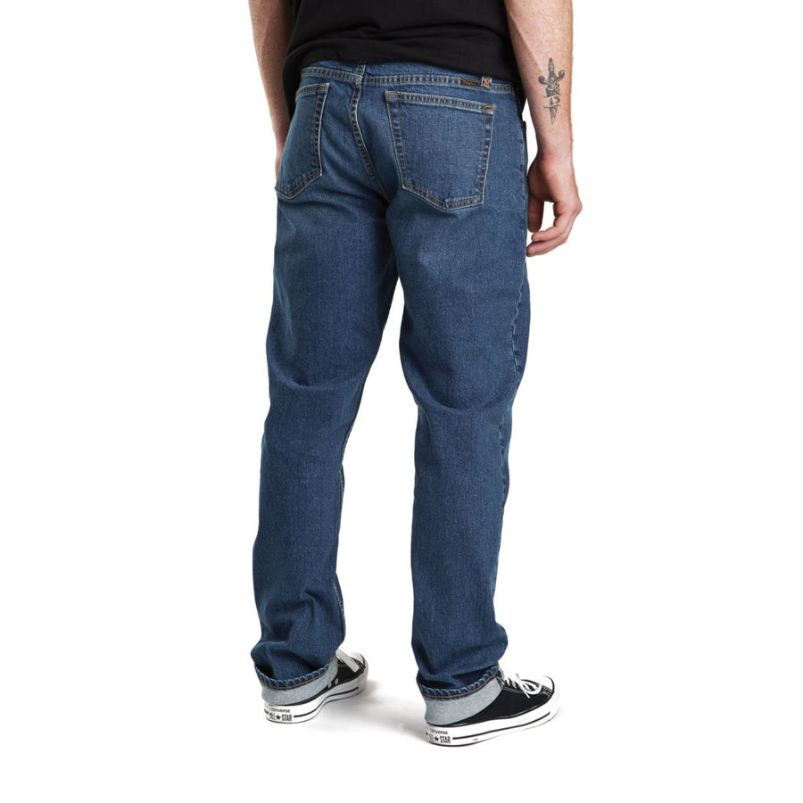 BRIXTON RESERVE 5-PKT DENIM PANT - WORN INDIGO - The Drive