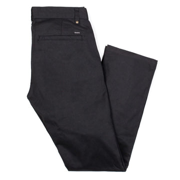BRIXTON RESERVE CHINO PANT BLACK - The Drive