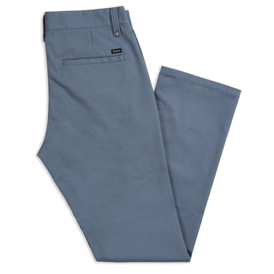BRIXTON RESERVE CHINO PANT GREY/BLUE - Seo Optimizer Test