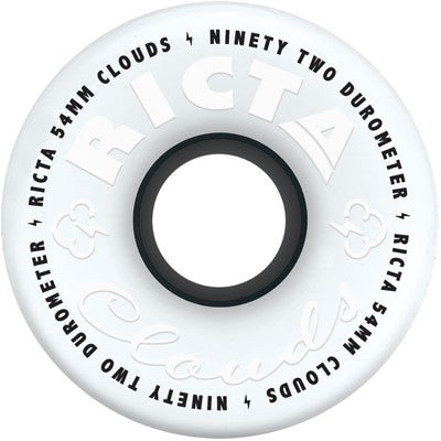 RICTA WHEELS CLOUDS WHITE BLACK 92A (52MM/54MM/56MM) - Seo Optimizer Test