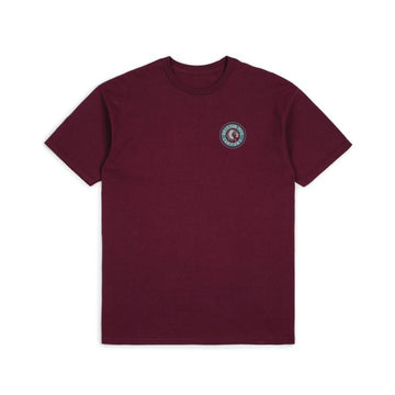BRIXTON RIVAL II S/S STND TEE - BURGUNDY/BLUE - Seo Optimizer Test