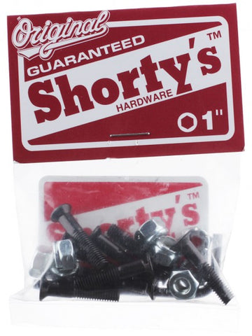 SHORTYS BOLTS ALLEN HARDWARE - The Drive Skateshop