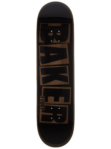 BAKER FIGGY BRAND NAME BLACK/GREY DECK (8.38