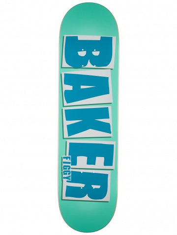 BAKER FIGGY BRAND NAME TURQ DECK (8.125) - The Drive