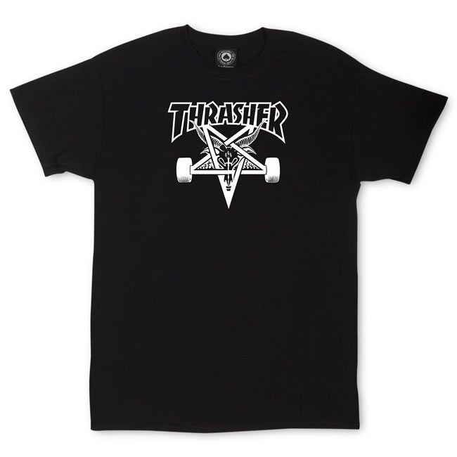 THRASHER SKATEGOAT TEE - The Drive