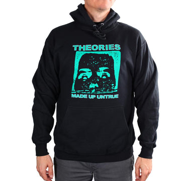 THEORIES DUNEDIN HOODY BLACK