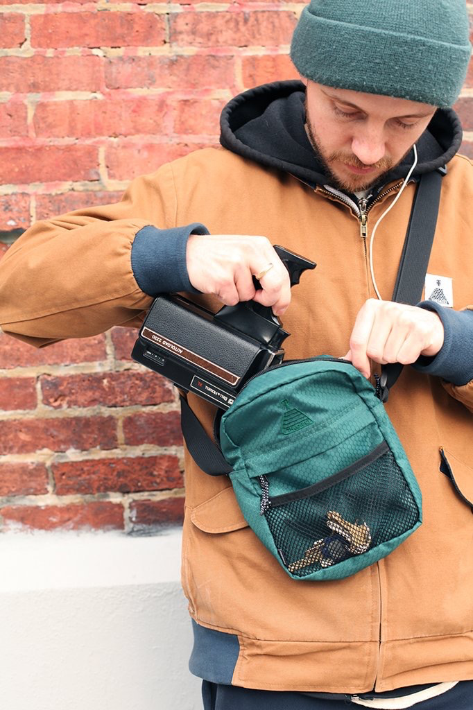 THEORIES SCRIBBLE SHOULDER PACK - The Drive Skateshop