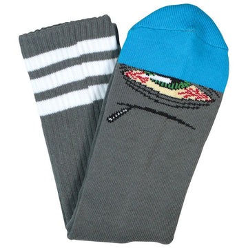 TOY MACHINE SOCKS STONER SECT GREY/BLUE - The Drive Skateshop