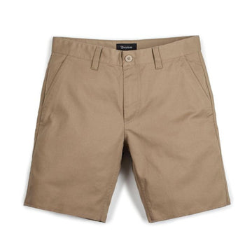 BRIXTON TOIL II SHORT - KHAKI - The Drive Skateshop