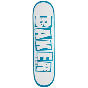 BAKER HERMAN RIBBON NAME DECK WHITE/BLUE (8