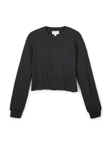 BRIXTON VINTAGE CROP CREW - BLACK - Seo Optimizer Test