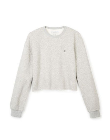 BRIXTON VINTAGE CROP CREW - HEATHER GREY - Seo Optimizer Test