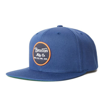 BRIXTON WHEELER SNAPBACK RIVER BLUE - Seo Optimizer Test